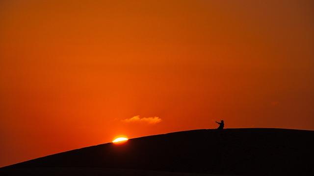 Sunset, Twilight, Abendstimmung, Landscapes, Sun