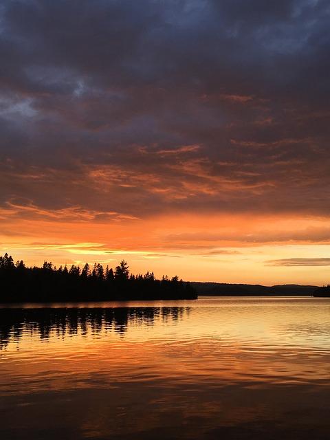 Sunset, Dawn, Body Of Water, Twilight, Evening, Nature