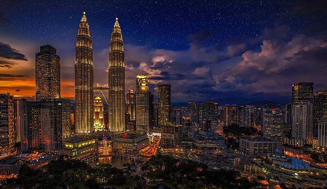 Kuala Lumpur, Twins, Malaysia, Petronas Twin Towers