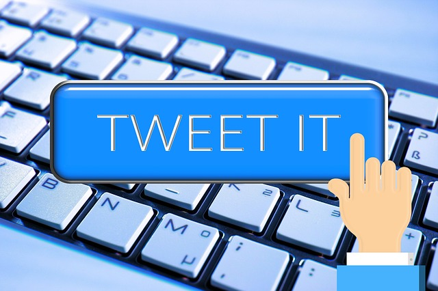 Keyboard, Hand, Tweet, Twitter, Computer, Cursor