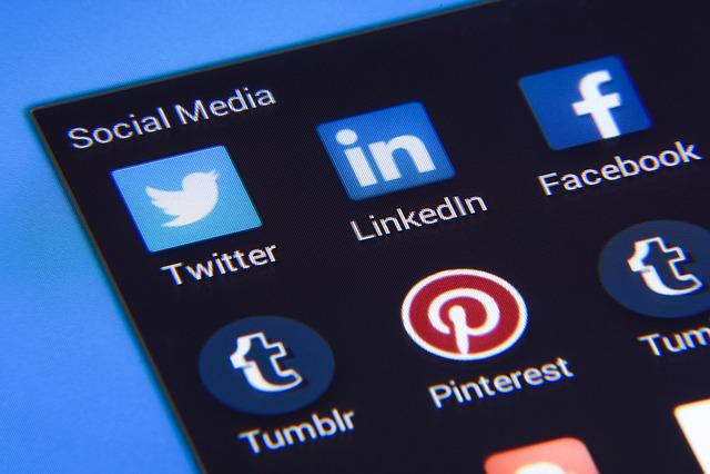 Social Media, Facebook, Twitter, Instagram, Icon, Icons