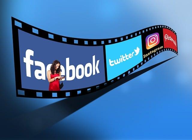 Social, Twitter, Facebook, Instagram, Pinterest, Apps