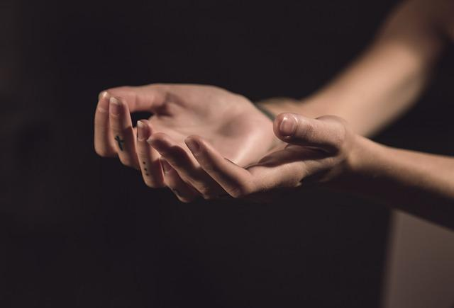 Hands, Two, Palms, Light, Hand In Hand, Hand Holding