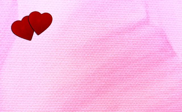 Red, Hearts, Two Hearts, Pink, Love, Valentine, Day