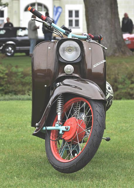 Motor Scooter, Schwalbe, Roller, Two Wheeled Vehicle