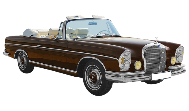 Isolated, Mercedes Benz, Type W108, 300se, Cabriolet