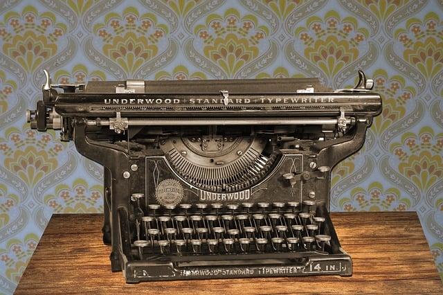 Typewriter, Vintage, Old, Manual, Manual Typewriter