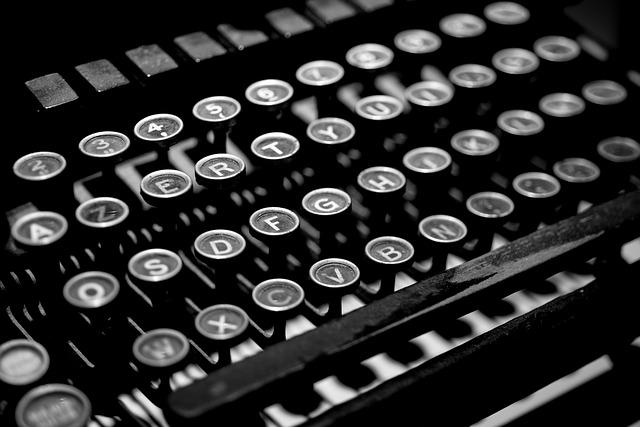 Typewriter, Antique, Vintage, Old, Writer, Retro, Type