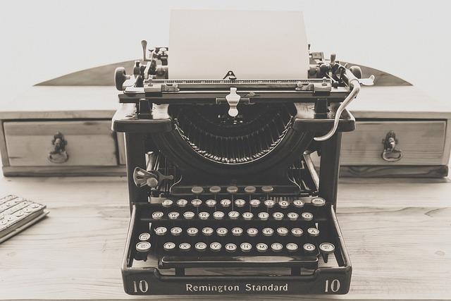 Typewriter, Vintage, Old, Vintage Typewriter, Retro