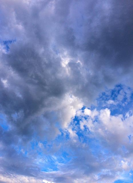 Cloud, Sky, Flowing, Typhoon, Dramatic, Blue Sky