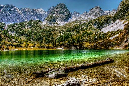 Seebensee, Tyrol, Mountains, Hiking, Landscape, Austria