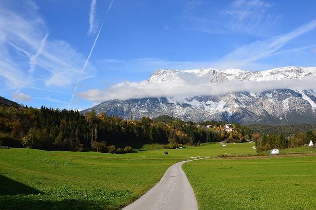 Sautens, Oetztal, Mountains, Tyrol, ötztal, Nature