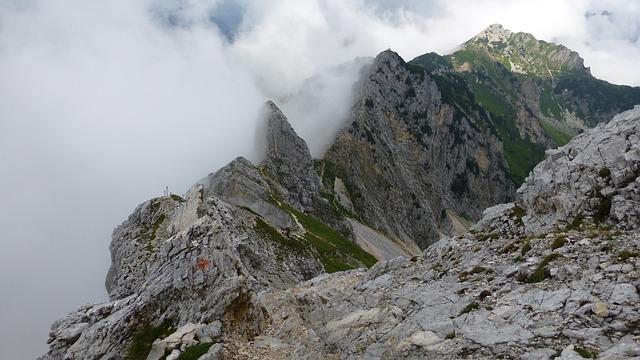 Tyrol, Tannheimertal, Friedberg's Climbing Rope