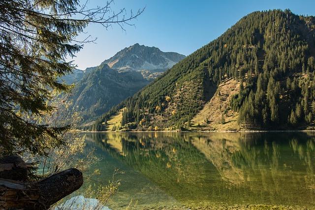 Tyrol, Bergsee, Vilsalpsee, Alpine, Vilsalpseeberge