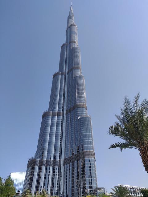 Burj Khalifa, Dubai, Skyscraper, Emirates, Uae, City