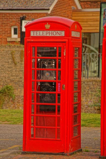 Free photo Uk Box Telephone Iconic Kingdom Red Booth - Max Pixel