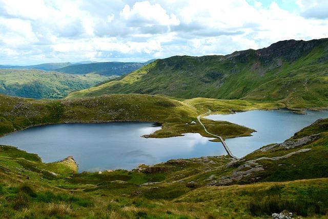 Landscape, Snowdonia, Wales, National, Park, Uk