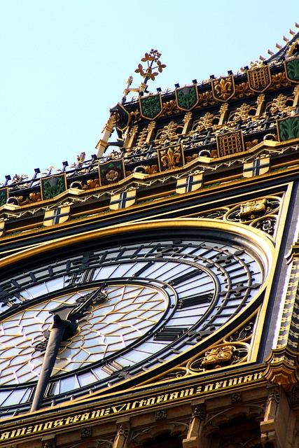 Big Ben, England, Landmark, United Kingdom, Clock, Uk
