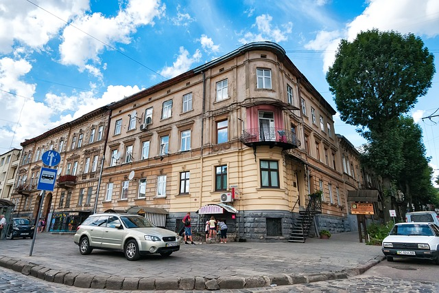 Lviv, Lvov, Ukraine, City, Home