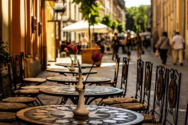 Lviv, Lions, Street, Ukraine