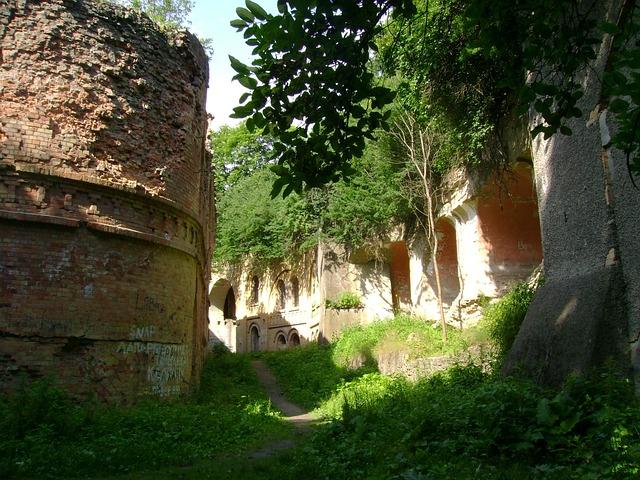 Ukraine, Tarakanìv, Fort