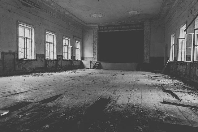 Theatre, Chernobyl, Abandoned, Ukraine, Nuclear