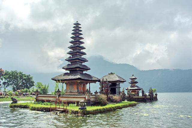 Indonesia, Bali, Ulun Danu, Temple, Hinduism