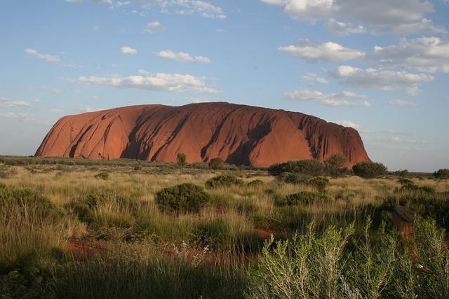 Uluru, Ayers Rock, Australia, Geography