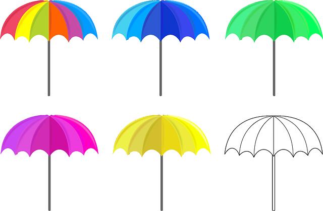 Umbrella, Umbrellas, Satikka, Shadow