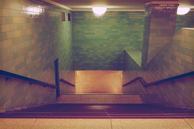 Metro, Subway Station, Berlin, Underground, Connection