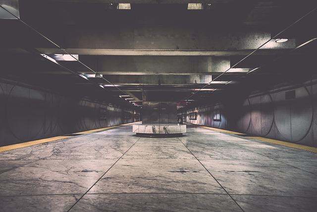 Metro, Passage, Subway, Tunnel, Underground