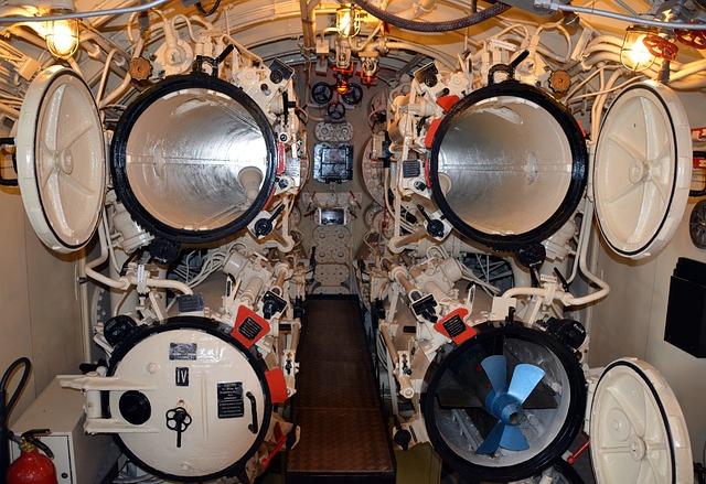 Submarine, Underwater Boat, Torpedo Tube, Torpedeo