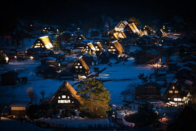 Japan, Shirakawa-go, Gifu, Heritage, Village, Unesco