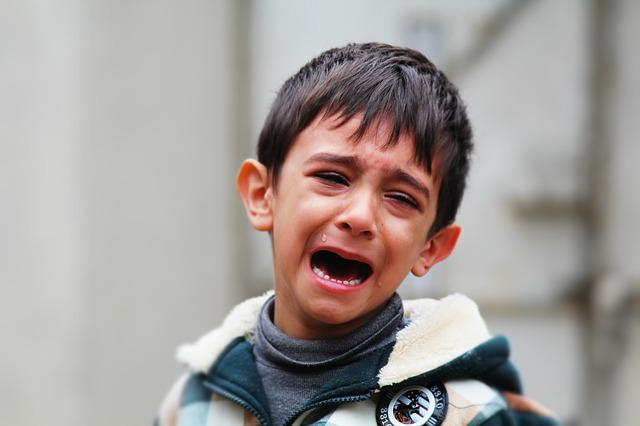 Child, Crying, Kid, Boy, Sad, Young, Unhappy, Iraq