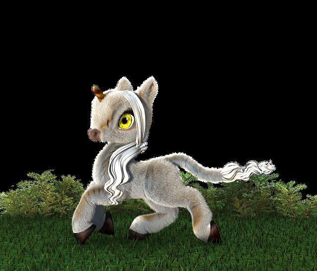 Unicorn, Horn, Baby, Fairy Tales, Horse, Mystical