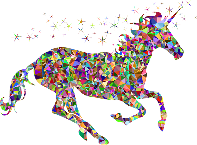 Gem, Unicorn, Fantasy, Horse, Fairytale, Sweet, Star