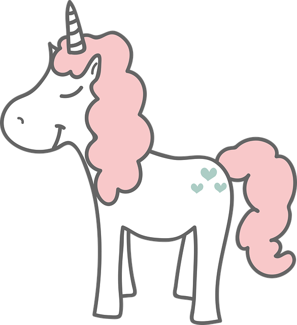 Unicorn, Happy, Magic, Horn, Cute, Child, Tale, Fantasy