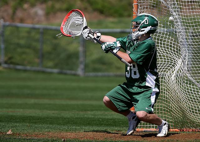 Lacrosse, Goalie, Goal Tender, Athlete, Sport, Uniform