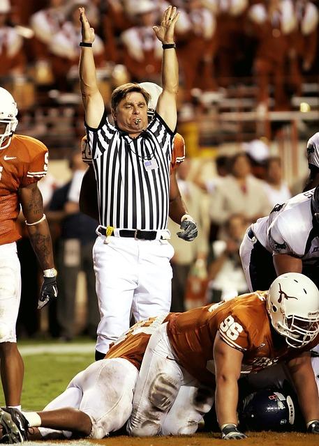 Referee, American Football, Team, Match, Uniform