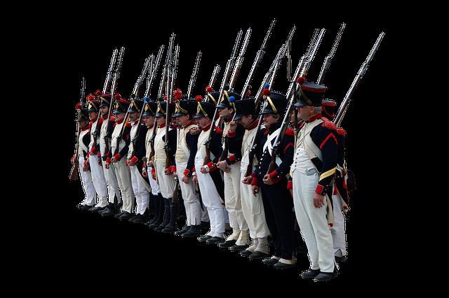 Soldiers, Uniform, Napoleon, Historic