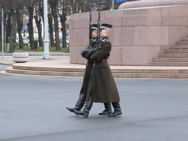 Riga, Latvia, Military, Watchkeeping, Uniforms