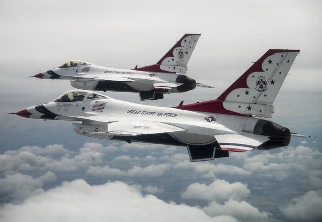 Thunderbirds, Usaf, United States Air Force, England