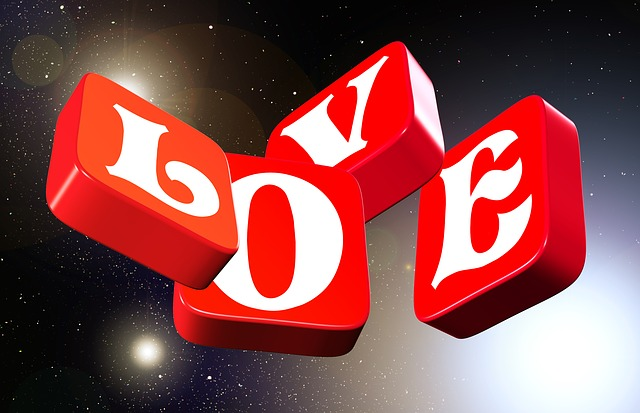 Love, Universe, Space, Flying, 3d, Star, Font, Red