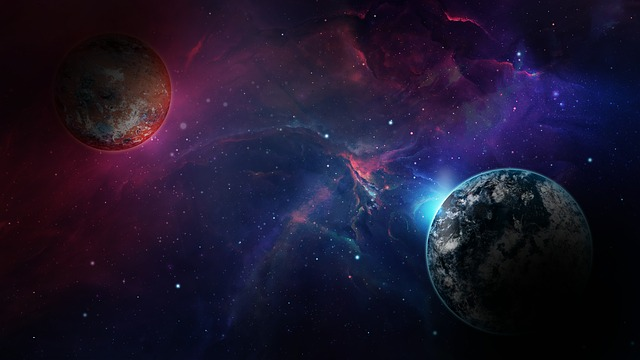 Space, Galaxy, Universe, Planet, Cosmos, Background