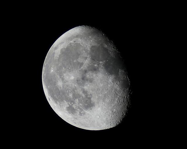 Moon, Night, Sky, Astronomy, Space, Moonlight, Universe