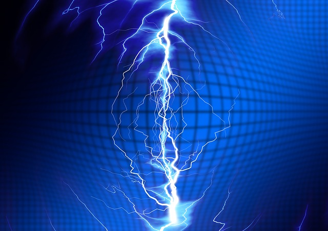Flash, Electricity, Energy, Current, Charge, Unloading