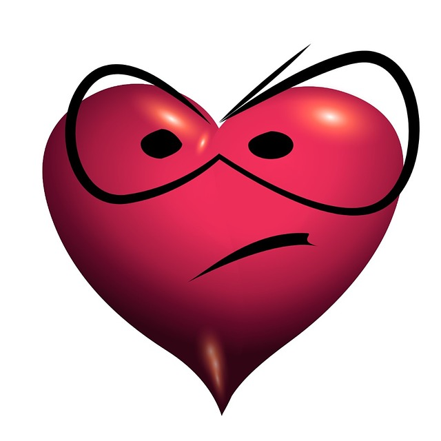 Heart, Mecontent, Unsatisfied, Annoyed, Désagrement