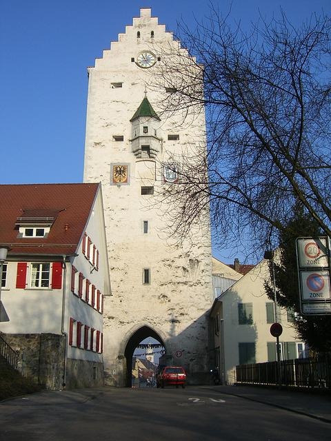 Upper Gate, Ravensburg, Downtown, Middle Ages