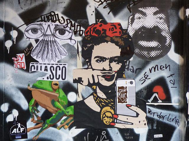Urban Art, Graffiti, Collage, Street Art, Mural