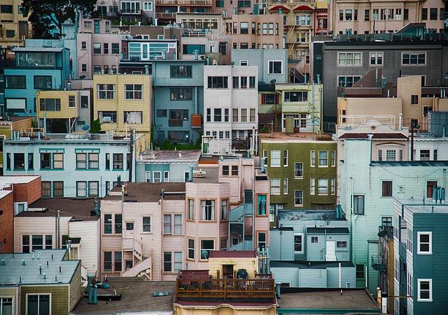 Town, Building, Urban, Architecture, Apartment